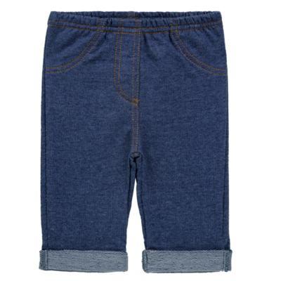 Imagem 1 do produto Calça para bebe em moletinho Azul Jeans - Tilly Baby - TB168010 CALÇA MOLETINHO MASCULINA-3