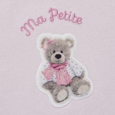 Imagem 3 do produto Regata c/ Cobre fralda para bebe em algodão egípcio Bellamy - Petit - 17944168 CONJ REGATA C/ COBRE FRALDA SUED/ VISCO URSA-G