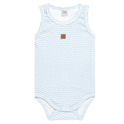 Imagem 1 do produto Body regata para bebe em suedine Ovelhinha Azul - Petit - 01194345 BODY REGATA AVULSO SUEDINE OVELHA MASC-G
