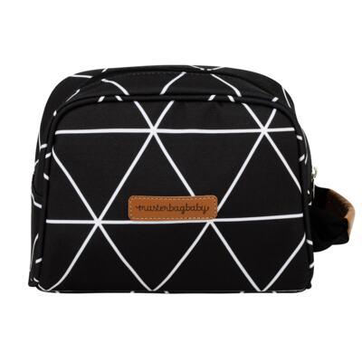 Imagem 3 do produto Mochila maternidade Noah + Necessaire Manhattan Preta - Masterbag