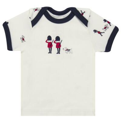 Imagem 2 do produto Camiseta com Cobre Fralda em algodão egípcio Royal Guard - Bibe - 39G80-G93 CJ CUR M CM+TP BY BIBE-GG