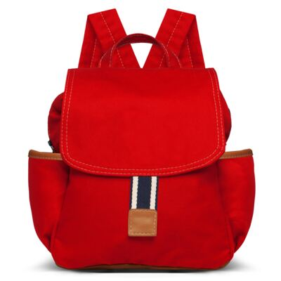 Imagem 3 do produto Bolsa maternidade para bebe + Mochila + Necessaire Adventure em sarja Vermelha - Classic for Baby Bags