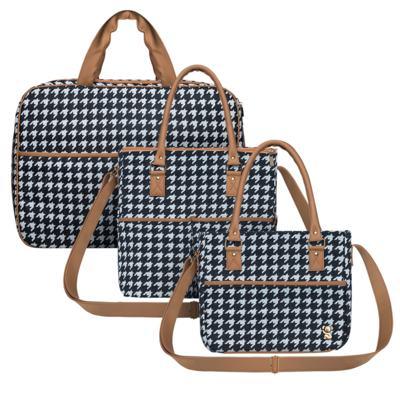Imagem 1 do produto Mala maternidade + Bolsa M + Frasqueira Class - Classic for Baby Bags