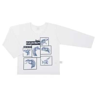 Imagem 2 do produto Pijama longo em malha Dinossauros - Cara de Sono - L3490 PIJAMA LONGO MALHA DINOS-4