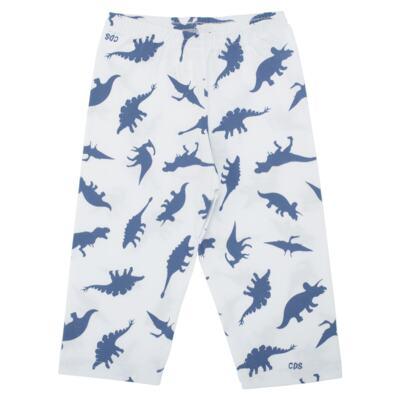 Imagem 3 do produto Pijama longo em malha Dinossauros - Cara de Sono - L3490 PIJAMA LONGO MALHA DINOS-4