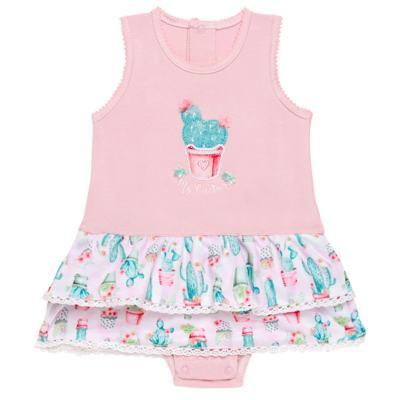 Imagem 1 do produto Body vestido para bebe em cotton Cactus Flower - Petit
