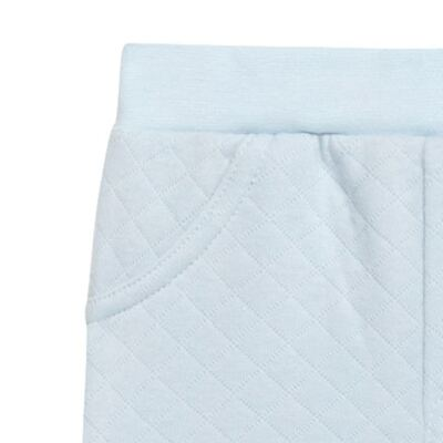 Imagem 2 do produto Calça para bebe em viscomfort matelassê Bleu - Petit - 41144345 CALÇA AVULSA MATELASSE OVELHA MASC-P