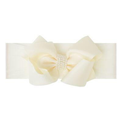 Imagem 1 do produto Faixa meia Maxi Laço gorgurão Marfim - Roana - 09840015031 Faixa Meia Especial Marfim