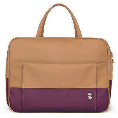 Imagem 2 do produto Mala Maternidade + Trocador Portátil Due Colore Uva - Classic for Baby Bags