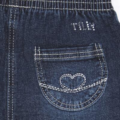 Imagem 3 do produto Calça jeans para bebe Little Heart - Tilly Baby - TB166003 CALCA JEANS FEM -GG