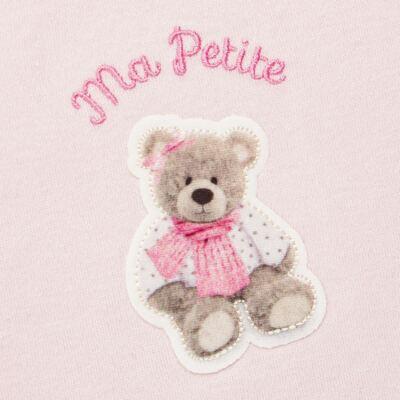 Imagem 3 do produto Regata c/ Cobre fralda para bebe em algodão egípcio Bellamy - Petit - 17944168 CONJ REGATA C/ COBRE FRALDA SUED/ VISCO URSA-M