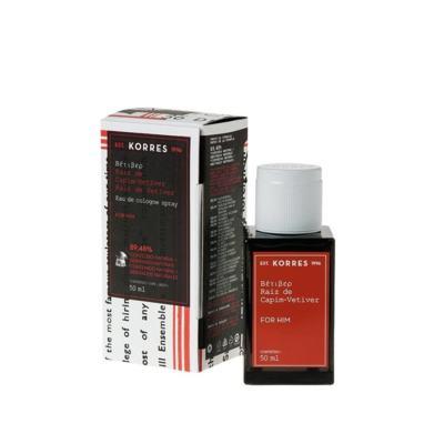 Imagem 4 do produto Raíz Capim-Vetiver Korres - Perfume Masculino - Eau de Cologne - 50ml