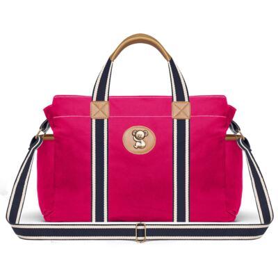 Imagem 2 do produto Bolsa Albany + Frasqueira Térmica Gold Coast em sarja Adventure Pink - Classic for Baby Bags