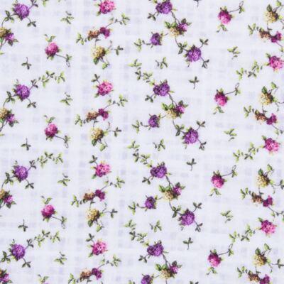 Imagem 2 do produto Regata para bebe em algodão egípcio Cute Flowers - Bibe - 38O02-G44 REGATA ESTAMPA DIGITAL FLORES LILÁS-P