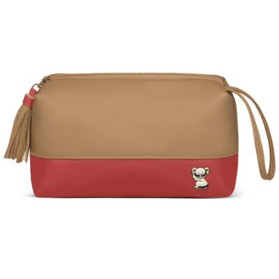 Imagem 3 do produto Mochila maternidade Davos + Necessaire Due Colore Coral -  Classic for Baby Bags