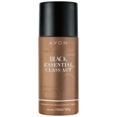 Imagem 1 do produto Black Essential Class Act Desodorante Aerosol Corpo 150ml - 150mL