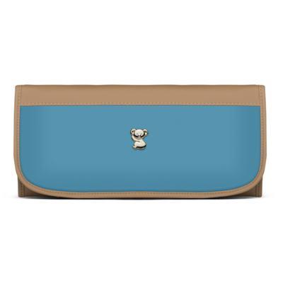 Imagem 5 do produto Mala Maternidade para bebe + Bolsa Genebra + Frasqueira Térmica Zurique + Trocador Portátil Due Colore Turquesa - Classic for Baby Bags