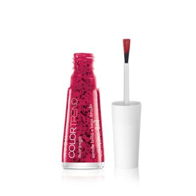 Imagem 1 do produto Esmalte Brilho e Longa Duração Efeito Pontilhado Color Trend - Esmalte Brilho e Longa Duração Efeito Pontilhado Color Trend -  Morango