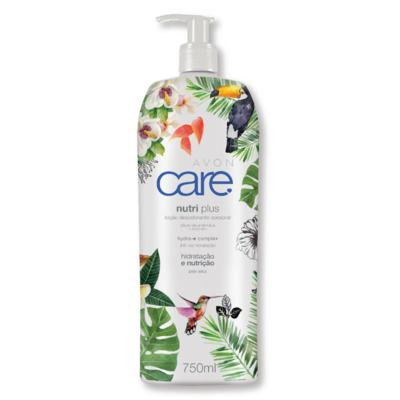 Loção Desodorante Corporal Avon Care Nutri Plus 750ml