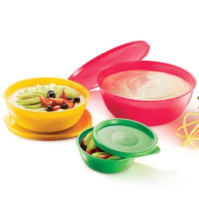 Imagem 1 do produto Kit 3 Bowls Innovaware Folk