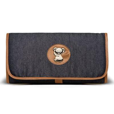 Imagem 6 do produto Bolsa Passeio para bebe + Bolsa Albany +  Frasqueira Térmica Gold Coast + Porta Mamadeira + Trocador Portátil Adventure Jeans - Classic for Baby Bags