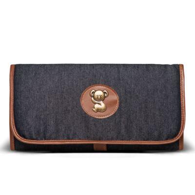 Imagem 5 do produto Bolsa Passeio para bebe + Bolsa Melbourne + Frasqueira Térmica Brisbane + Trocador Portátil Adventure Jeans - Classic for Baby Bags