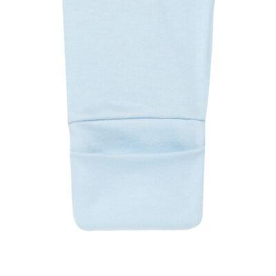 Imagem 4 do produto Pack 2 mijões com pé reversível para bebe em suedine Ovelhinha Azul - Petit - 10444345 PACK 2 MIJOES PE REVERSIVEL SUEDINE OVELHA MASC-P