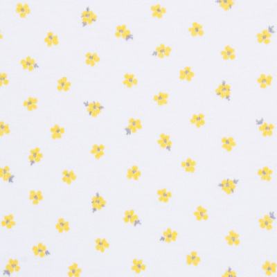 Imagem 2 do produto Body regata para bebe em algodão egípcio c/ jato de cerâmica Daisy - Mini & Classic - BDR657 BODY REGATA SUEDINE FLORAL AMARELO-M