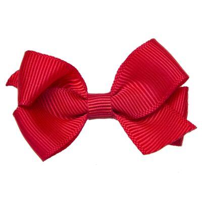 Imagem 1 do produto Presilha laço duplo Vermelha - Roana