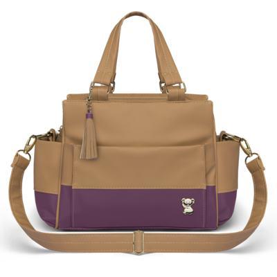 Imagem 4 do produto Mala Maternidade para bebe + Bolsa Genebra + Frasqueira Zurique  + Necessaire + Trocador Due Colore Uva