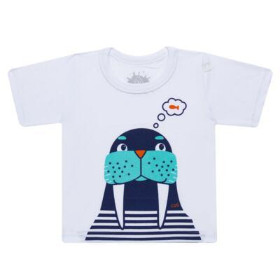 Imagem 2 do produto Conjunto de Banho Morsa: Camiseta + Sunga - Cara de Criança - KIT 2 2532: SB2532+CCA2532 SUNGA E CAMISETA MORSA-3