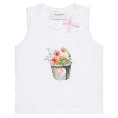 Imagem 2 do produto Regata c/ Cobre fralda para bebe em cotton Love Cactus - Petit - 17024300 CJ REGATA NAD. CALCINHA COTTON/VISC LOVE CACTUS-GG