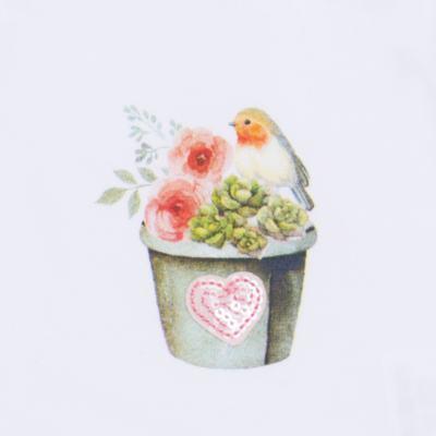Imagem 4 do produto Regata c/ Cobre fralda para bebe em cotton Love Cactus - Petit - 17024300 CJ REGATA NAD. CALCINHA COTTON/VISC LOVE CACTUS-GG