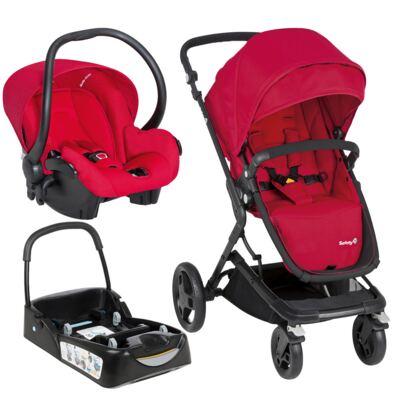 Imagem 1 do produto Travel System Kokoon: Carrinho Kokoon + Bebê Conforto One Safe XM Full Red + Base  - Safety 1st