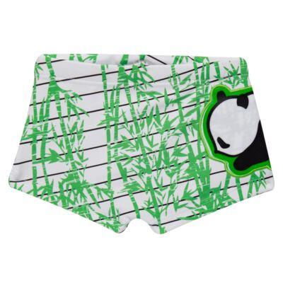 Imagem 3 do produto Conjunto de Banho para bebe  Pandite: Camiseta + Sunga - Cara de Criança - KIT 1 2530: SBB2530+CCAB2530 SUNGA E CAMISETA BB PANDA-M