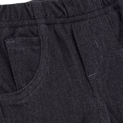 Imagem 6 do produto Calça para bebe forrada em fleece & pelúcia Dark Denim - Mini & Classic - CLCF4169 CALÇA C/ FORRO FLEECE/ MAL PUG-3