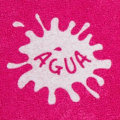 Imagem 2 do produto Roupão atoalhado com capuz Pink - Cara de Criança - RO2166 ROUPAO PINK RO ROUPAO ATOALHADO-4