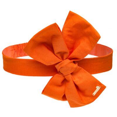 Imagem 1 do produto Faixa Maxi Laço em tricoline Laranja - Roana