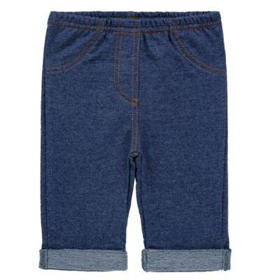 Imagem 1 do produto Calça para bebe em moletinho Azul Jeans - Tilly Baby - TB168010 CALÇA MOLETINHO MASCULINA-1