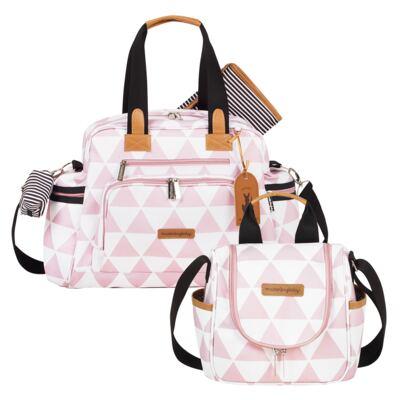Imagem 1 do produto Bolsa Everyday + Frasqueira térmica Emy Manhattan Rosa - Masterbag