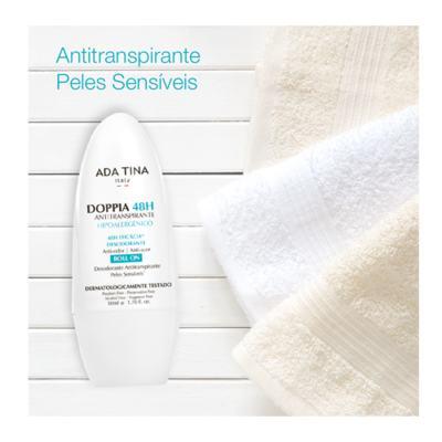 Imagem 3 do produto Ada Tina Doppia 48H Antitranspirante Hipoalergênico - Desodorante Antitranspirante Roll-On - 50ml