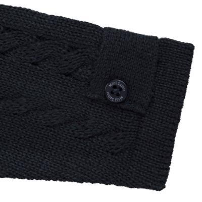 Imagem 3 do produto Casaquinho para bebe em tricot trançado Marinho - Mini Sailor - 75464262 CASAQUINHO C/GOLA TRANÇADO TRICOT MARINHO-0-3