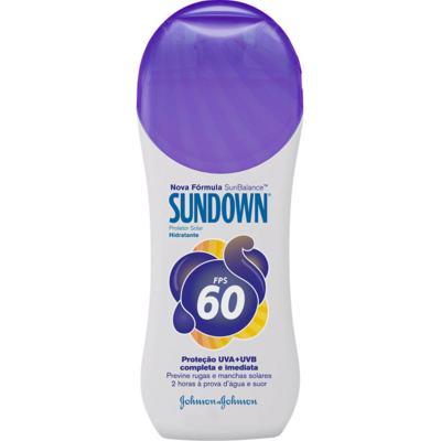 Protetor Solar FPS 60 120ml - Sundown