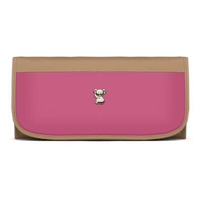 Imagem 6 do produto Mala Maternidade para bebe + Bolsa Genebra + Frasqueira Térmica Zurique  + Necessaire + Trocador Portátil Due Colore Pink - Classic for Baby Bags