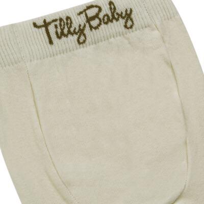 Imagem 3 do produto Meia-Calça para bebe em algodão Bege - Tilly Baby - TB172031.02 ACESSORIO MEIA UNISSEX BASICA BEGE-2