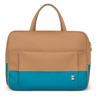 Imagem 2 do produto Mala Maternidade + Bolsa Térmica Zurique + Mini Bolsa Due Colore Turquesa - Classic for Baby Bags