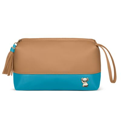 Imagem 4 do produto Mala Maternidade + Bolsa Térmica Zurique + Mini Bolsa Due Colore Turquesa - Classic for Baby Bags