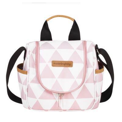 Imagem 3 do produto Bolsa Everyday + Frasqueira térmica Emy +  Frasqueira Organizadora Manhattan Rosa - Masterbag