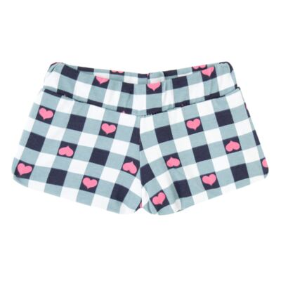 Imagem 3 do produto Body regata com shorts balonê para bebe Bubblegum - Time Kids - TK5054.PK CONJUNTO BODY E SHORTS XADREZ PINK-M