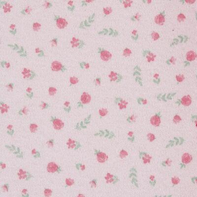 Imagem 3 do produto Macacão c/ Bolero para bebe em algodão egípcio Florale - Mini & Classic - 21664172 MACACAO ML  CASACO SUEDINE/TR FLORAL-RN